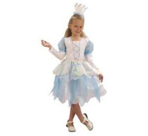 Карнавален костюм - Принцеса - синя - къса