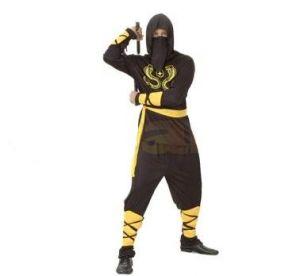 Карнавален костюм - Нинджа - черно и жълто