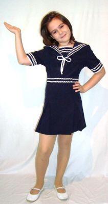 Карнавален костюм - Морячка