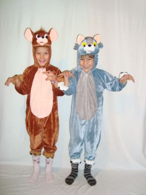 Карнавален костюм - Том и Джери