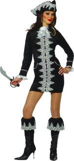 Карнавален костюм- Секси пиратка