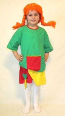 Карнавален костюм - Пипи Дългото чорапче