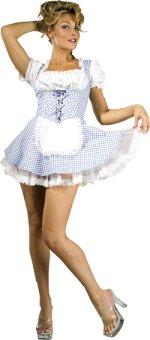 Карнавален костюм - Секси селско момиче