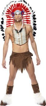 Карнавален костюм - Секси индианец