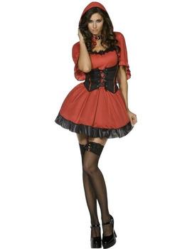 Карнавален костюм - Секси червена шапчица