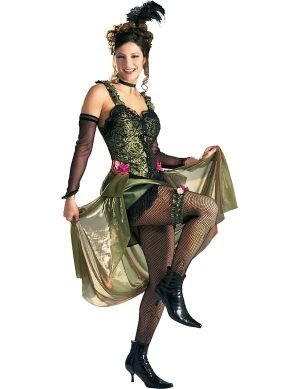 Карнавален костюм - Момиче от салона
