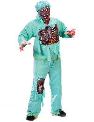 Карнавален костюм - Зомби - доктор