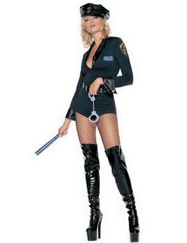 Карнавален костюм - Секси полицайка