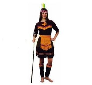 Карнавален костюм - Индианка