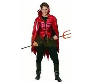 Карнавален костюм - Дявол - блестящ