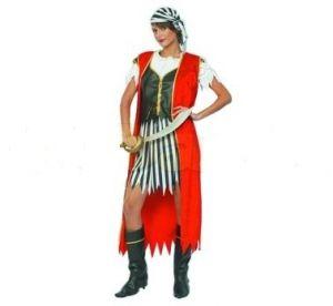 Карнавален костюм - Пиратка-раирана