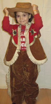 Карнавален костюм - Каубойка