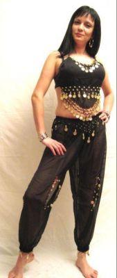 Карнавален костюм - Кючекиня - шалвари