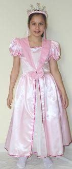 Принцеса - розов сатен